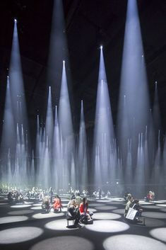 "Sou Fujimoto Installs a ""Forest of Light"" for COS at 2016 Salone del Mobile,COS × SOU FUJIMOTO. Image ©️️ Laurian Ghinitoiu"