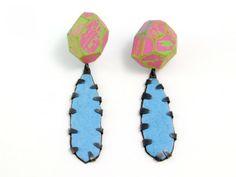 """CONTEXT Galeria -Eva Burton - Arracades-pendientes-earrings """"In Blossom III"""""""