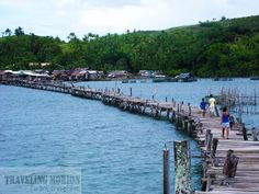 bridge connects two islands in Surigao City Surigao City, Islamic Society, Mindanao, Travel And Leisure, Archipelago, Countries Of The World, More Photos, Philippines, Islands