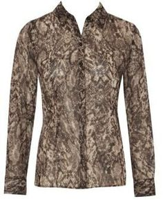 Snake Print Shirt from Matalan was £ 16 now £12