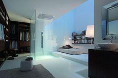 | Decoración de baños integrados en el dormitorio