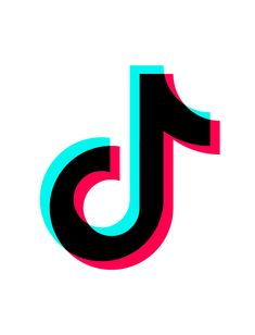 This symbol represents the app Tik Tok. Like many other social apps, is one of the fastest growing apps ever Logo Youtube, Youtube Youtube, Snapchat Logo, Brand Stickers, Wie Macht Man, Instagram Logo, Logo Sticker, Tik Tok, Logos