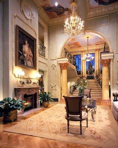 Luxury entry.. Stately grand an old money build this house incredible details and millwork
