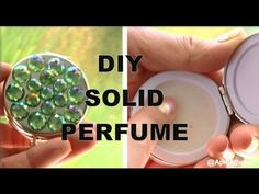 DIY SOLID PERFUME! How to Make Solid Perfume! http://youtu.be/qVT3vglwjTs?hd=1