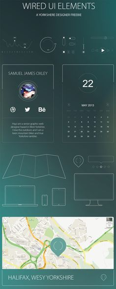 Web Design Freebies — Free Wired UI Kit