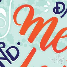 More cheeky sneak peeks because I cannot contain my excitement!! --- #design #lettering #typography
