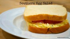 Southern Egg Salad {recipe}