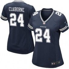 Womens Nike Dallas Cowboys http://#24 Morris Claiborne Limited Navy Blue Team Color Jersey$89.99