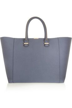 Victoria Beckham Liberty textured-leather tote   NET-A-PORTER gorgeous bag <3 love love love the colour
