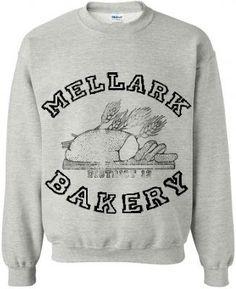 Hunger Games , Peeta's family baker sweatshirt :)   $31