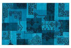 Bordeaux Rug, Turquoise on OneKingsLane.com