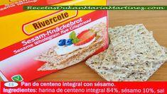 Pan Dukan en Mercadona, Lidl, Aldi:  pan de centeno integral para Crucero, Consolidación y la NUEVA dieta Dukan