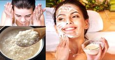 It's every woman's dream to look young and most women spend enormous amount of time and money trying different facial products that will 'erase' their wrinkles. We suggest an amazing face mask recipe Beauty Secrets, Beauty Hacks, Beauty Tips, Rice Mask, Salud Natural, Mascara Tips, Homemade Face Masks, Tips Belleza, Belleza Natural