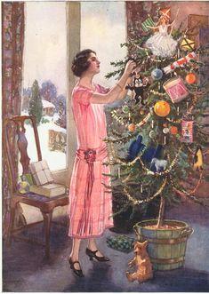 1920s Uk Tree Decorations