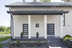 Stone Houses, Habitats, House Plans, Sweet Home, Villa, Home And Garden, Exterior, Landscape, Architecture