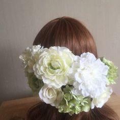 【オリジナル1点のみ】ウエディング・和装・成人式に アンティークヘッドドレス ah-015|ヘッドドレス|ah flowers|ハンドメイド通販・販売のCreema