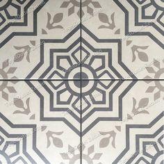 Vloertegel Tiffani 20x20cm blue - Prachtige vintage Portugese Marokkaanse look tegels voor in uw badkamer - toilet of keuken. Ook in de hal is dit een mooie verrijking