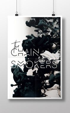 Jammin in the car with the music up loud is the memory I have when I hear their music. The chainsmokers came out with THE PERFECT SONG for cruisin and so of course I had to honour them by designing some fan art for my final Music Poster Project of 2016. The typography on this...