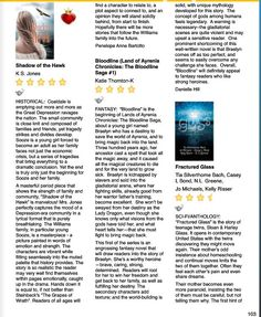 Love this 5-Star Review of SHADOW OF THE HAWK by K.S. Jones (It's what every writer hopes to hear ...)