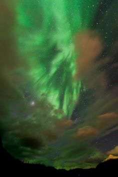 Alaska Northern Lights From Water | Best New Space Pictures: Galactic Goblins, Alaskan Glows