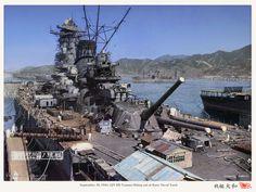 Yamato in dock yard 1941