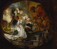 Esther and Ahasuerus // ca. 1620 // Peter Paul Rubens // Academy of Fine Arts Vienna