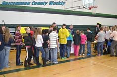 Houghton Lake Middle School Students Attend On Campus Health Fair