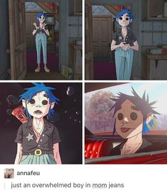 ((BLESS HIM)) Gorillaz, 2d, Stuart pot