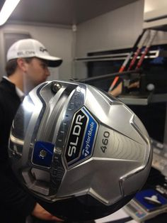 August 20, 2013: ''Last swingweight on the #SLDR for tonight!!! #teamSLDR,'' TaylorMade Golf (@TaylorMadeTour) tweeted at the end of a long day at Liberty National.