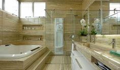 Decor Salteado - Blog de Decoração | Design | Arquitetura | Paisagismo: Banheiros com Banheiras! 30 Modelos maravilhosos!
