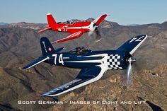 F2G Super Corsairs #74 & #57