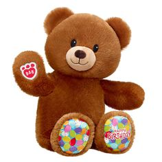 Birthday Treat Bear | Shop Online Now at Build-A-Bear® Birthday Month, Boy Birthday, Build A Bear Birthday, Giant Stuffed Animals, Bear Shop, We Bear, Birthday Treats, Party Stores, Special Birthday