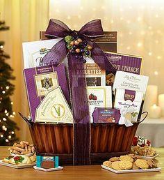 Splendid Sweets & Savories Gift Basket