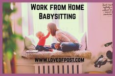 LOP Work from Home - Babysitting - Love of Post Work From Home Careers, Work From Home Moms, Work From Home Canada, Babysitting Jobs, Make A Flyer, Soccer Practice, Safety Tips, Money From Home, You Are Awesome