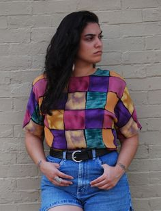 nadia aboulhosn I love this top it reminds me of the 90s!