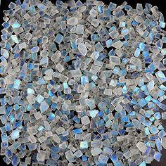 Jewels House Shiny Rainbow Moonstone Oval Gemstone Silver Plated Handmade White Stone Ring US-9