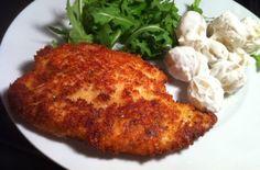 Grana Padano breadcrumbed chicken breast recipe - goodtoknow