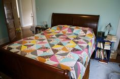 Amazing quilt top by Thomas Knauer using my Washi Collection! Loooove!
