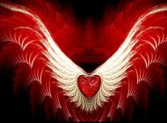 Heart with wings: my favorite symbol of eternal twin flame love Fractal Geometry, Fractal Art, Heart With Wings, Love Heart, Kaleidoscope Images, Twin Flame Love, Twin Flames, Images Of Colours, Heart Background