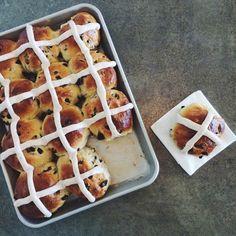 Hot Cross Buns from Bouchon Bakery Cookbook