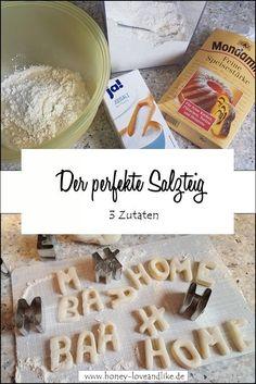 So machst du den perfekten Salzteig   #Salzteig #SalzteigAnhänger #Anhänger #Weihnachtsbaum #Weihnachtsdesko Repurposing, Creative Ideas, Flamingo, German, Breakfast, Inspiration, Food, Diys, Upcycling