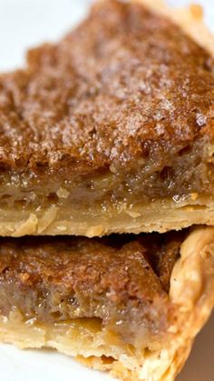 Southern Brown Sugar Pie ~ A delicious southern favorite, this brown sugar pie is delicious!