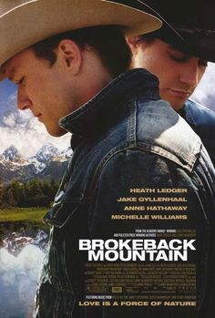 Brokeback Mountain: (2005) #94 on EW's list of top 100, a beautiful movie a beautiful love story, painful to watch I sobbed.  Why is this only #94?