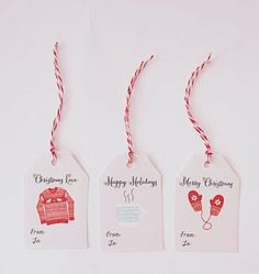 Gift Wrapping Guide: 15 Free Printable Tags