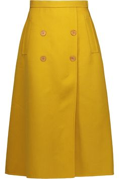 The best workwear buys that have just dropped from Zara Topshop Net-a-Porter and more—updated every single week. Blouse And Skirt, Skirt Pants, Midi Skirt, Slit Skirt, Full Skirts, Skirts With Pockets, Best Workwear, Hijab Style, Calf Length Skirts