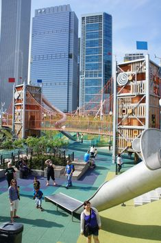 Maggie Daley Park's whimsical, curving layout encourages active recreation. The story of how the park came to be gives an interesting look at how Chicago's downtown has evolved.