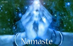 "✣ Namaste ✣ The significance of this gesture extends far beyond even the simplest definition of ""I bow to you"". Namaste is a humbling gesture. It has a deep spiritual significance that seeks to reduce our own ego in the presence of another person. arT © e11en ♥ vaman www.facebook.com/ellenvaman 978 #namaste #mudra #yoga"