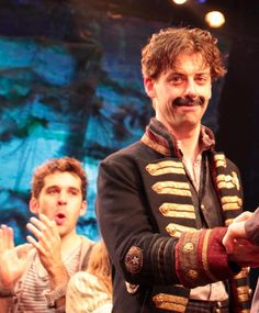 Peter and the Starcatcher -- Christian Borle as Black Stache