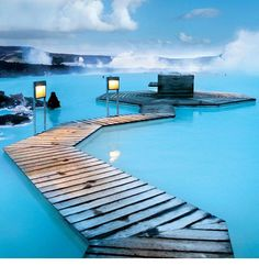 Blue Lagoon, Iceland. One day.