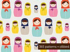Russian Dolls - Matryoshkas | ollibird great design portfolio online